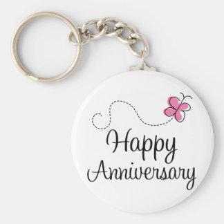 Happy Anniversary Gift Key Chain