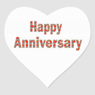 HAPPY Anniversary GIFTS n ReturnGIFTS LOWPRICES Heart Sticker