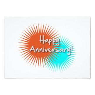 Happy Anniversary Invitation Card