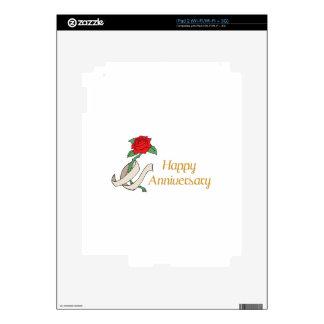 Happy Anniversary iPad 2 Decal