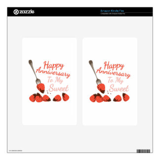 Happy Anniversary Kindle Fire Decal
