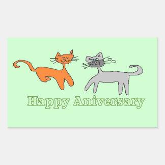 happy anniversary Kitty stickers