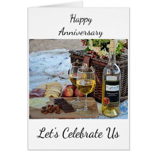 """**HAPPY ANNIVERSARY"""" LET'S CELEBRATE """"US"""" CARD"""