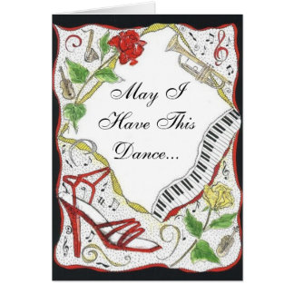 Happy Anniversary, May I Have This Dance... Card