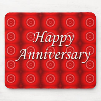 Happy Anniversary Mouse Pad