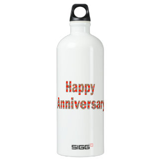 HAPPY Anniversary n ReturnGIFTS LOWPRICES Aluminum Water Bottle