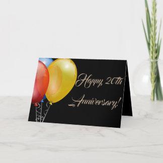 Happy Anniversary Number Balloon Destiny Destiny's Card