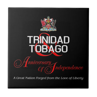 Happy Anniversary of Independence T&T Tile