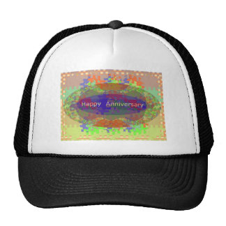 Happy Anniversary - Oriental Art Emotional Touch Hat