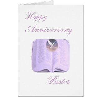 Happy Anniversary Pastor Card