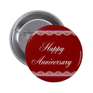Happy Anniversary Pinback Button