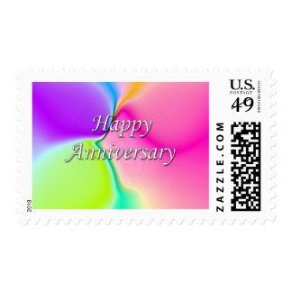 Happy Anniversary Postage Stamps