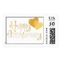 Happy Anniversary Postage Stamp