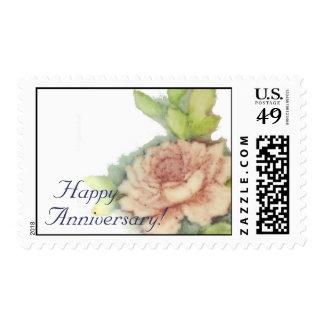 Happy Anniversary! Postal Stamp-Customize