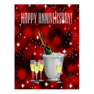Happy Anniversary! ~ Postcard