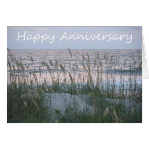 Happy anniversary mom and dad cards greeting photo cards zazzle happy anniversary seaside to mom and dad card bookmarktalkfo Choice Image