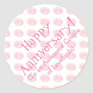 Happy Anniversary Stickers
