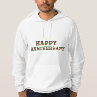 HAPPY ANNIVERSARY TEXT: happyanniversary lowprice Hoodie