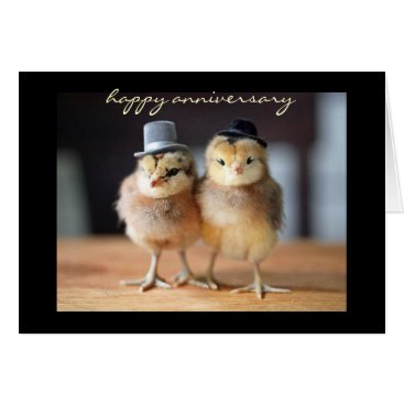 siberianmom Happy Anniversary to Quite a Pair (greeting card) Card