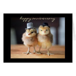 Happy Anniversary to Quite a Pair (greeting card) Stationery Note Card