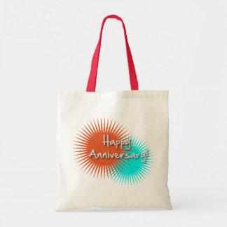Happy Anniversary Tote Bag Gift