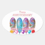 Happy ANNIVERSARY: Txt editable any occassion Sticker