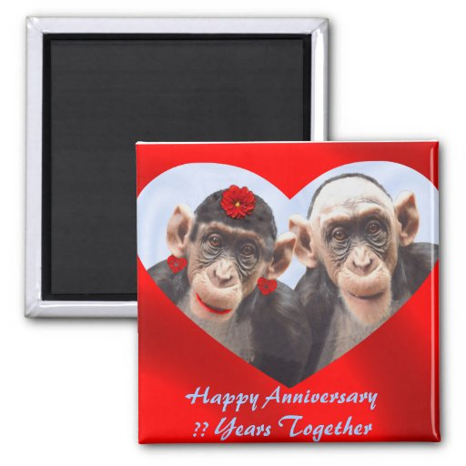 HAPPY ANNIVERSARY ?? YEARS TOGETHER- MAGNET