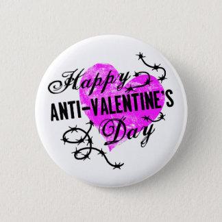 Happy Anti-Valentine's Day Pinback Button