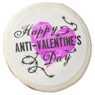 Happy Anti-Valentine's Day Sugar Cookie