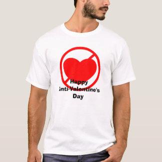 happy anti valentines day t shirt