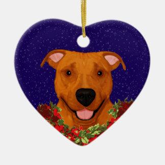 Happy APBT Ornament