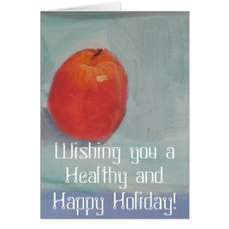 Happy Apple Day! Card