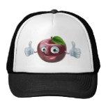 Happy apple man trucker hats