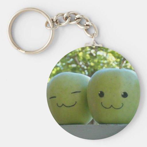 Happy apples llaveros personalizados