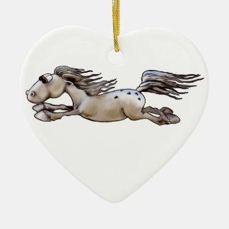 Happy Appy Ceramic Ornament