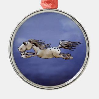 Happy Appy Metal Ornament