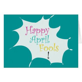 Happy April Fools - Greeting Card