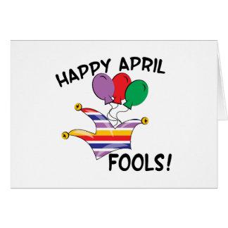 Happy April Fools Greeting Card