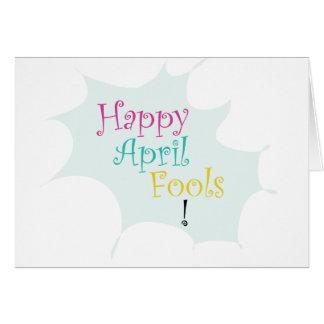 Happy April Fool's Card