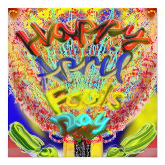 Happy April Fools Day 2014 Invitation