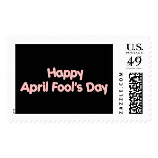 Happy April Fool's Day Postage