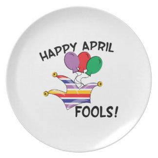 Happy April Fools Plate