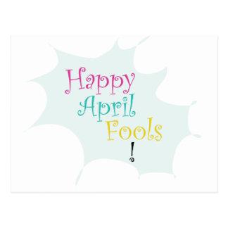 Happy April Fool's Postcard