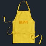 """Happy Apron<br><div class=""""desc"""">If the cook&#39;s happy,  you know everyone will be happy!</div>"""