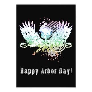 Happy Arbor Day hi-fi tree Card
