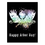Happy Arbor Day! : hi-fi tree Post Cards