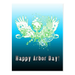 Happy Arbor Day! : hi-fi tree Postcard