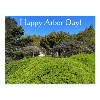 Happy Arbor Day! Postcard