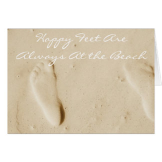 Happy are always at the beach ~ OceanLife Ensemble Card