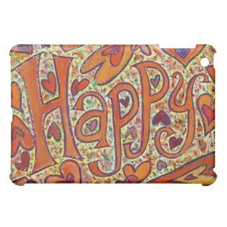 Happy Art iPad Fitted Hard Case iPad Mini Cover